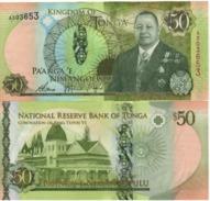 TONGA New  50 PAANGA     P48   NEW  KING   2015 - Tonga