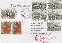 Eil-Brief 1981 Von Napoli Nach Zürich (br0076) - 6. 1946-.. Republic