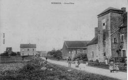 CPA De NORMIER (Côte D'Or) - Grand'Rue. Edition Mazué. Circulée En 1916. T B état. - Altri Comuni