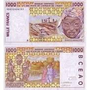 Billet   BILLET BENIN L'AFRIQUE DE L'OUEST 1000 FRANCS - Bénin