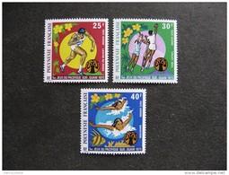 Polynésie:  TB Série PA N° 93 Au  N° 95, Neufs XX. Cote = 24 Euros. - Poste Aérienne