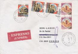 Eil-Brief 1981 Von Domodossola Nach Zürich (br0089) - 6. 1946-.. Republic