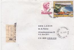 R-Brief 1981 Von Pieve Fosciana (LU) Nach Zürich (br0090) - 6. 1946-.. Republic