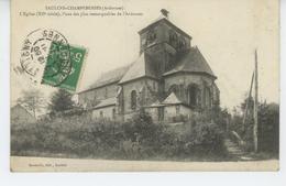 SAULCES CHAMPENOISES - L'Église - Altri Comuni