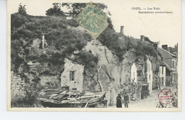 CREIL - Les Tufs - Habitations Souterraines - Creil