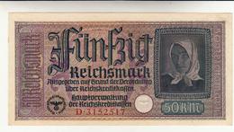 Germany Banknote. 50 Reichmark 1939 Spl+ - 50 Reichsmark