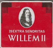 BOITE EN FER 20 EXTRA SENORITAS WILLEM II - Cigar Cases
