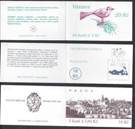 TCHEQUIE - 1994-95 - C. 55 - C. 68 - C. 69 - Trois Carnets - Neufs - XX - MNH - TB - - Czech Republic