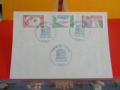 France > Service > Lettres > UNESCO - Paris - 15.11.1980 - 1er Jour FDC - Lettres & Documents