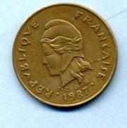 1987 100 FRANCS - Nuova Caledonia