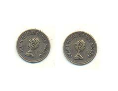 PHANTASY COINS (or TOKEN) QUEEN ELISABETH THE SECOND 15.0 Mm RARE - Grossbritannien