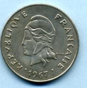 1967 50 FRANCS - Nuova Caledonia