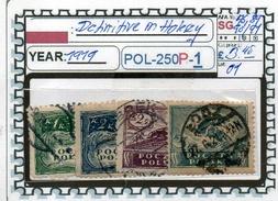 POLAND: CLASSIC SERIE(S) (POL-250P-1 (01) - 1919-1939 Republik