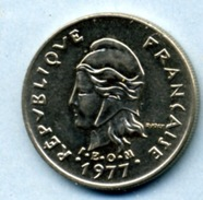 1977  10 FRANCS - Nouvelle-Calédonie
