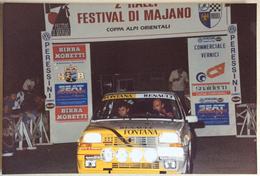 2° RALLY FESTIVAL DI MAJANO COPPA ALPI ORIENTALI / UGO RETTORE UCCARI / RENAULT 5 GT TURBO - Corse Di Auto