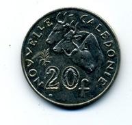 1972  20 FRANCS - Nouvelle-Calédonie