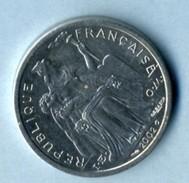 2002  2 FRANCS - Nuova Caledonia