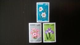 N° 234 à 236       Fleurs Des Vallées D' Andorre