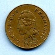 1992  100 FRANCS - Polynésie Française
