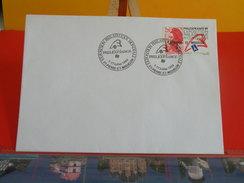St.Pierre Et Miquelon > 1986-1989 > Lettres - Philatélie Mondiale - St Pierre Et Miquelon - 17.7.1989 - 1er Jour FDC - Lettres & Documents