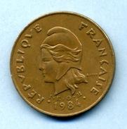 1984  100 FRANCS - Polynésie Française