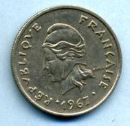 1967  10 FRANCS - Polynésie Française