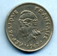 1967  10 FRANCS - French Polynesia