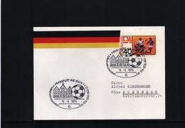 Deutschland / Germany 1974 World Football Champioship Germany  Interesting Postcard - Coppa Del Mondo