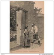 COSTP0604-LFTM1139TMO.Tarjeta Postal De ZARAGOZA.COSTUMBRES ARAGONESAS.Personas La Puerta De La Casa.. Zaragoz - Moda