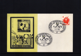 Deutschland / Germany 1974 World Football Champioship Germany  Interesting Letter - Coppa Del Mondo