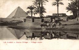 LE CAIRE NATIVE VILLAGE - Le Caire