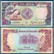 Billet Banque SOUDAN 20 POUNDS - Sudan