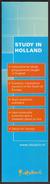 Netherlands / Bookmarks / Bookmarker / Study In Holland - Bladwijzers