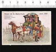 Relais De La Malle-Poste Vers 1825 Thème Locomotion Diligence  IM51P4-1 - Vieux Papiers