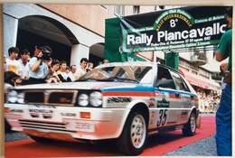 1987 8° RALLY INTERNAZIONALE PIANCAVALLO - 35  Galli Chantal - Ceana Cinzia / Lancia Delta HF 4WD - Corse Di Auto