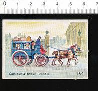 Omnibus à Pneus 1910  Thème Locomotion  IM51P4-1 - Unclassified
