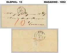 1852, Lettre De MAGADINO