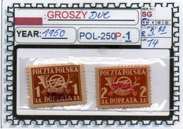 POLAND: CLASSIC SERIE(S) (POL-250P-1 (14) - Postage Due