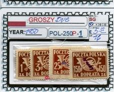 POLAND: CLASSIC SERIE(S) (POL-250P-1 (16) - Postage Due