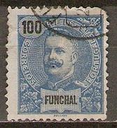 FUNCHAL     -    1897 .   Y&T N° 27 Oblitéré - Funchal