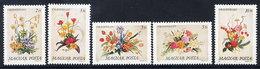 HUNGARY 1989 Flower Arrangements MNH / **.  Michel 4019-23 - Hungary