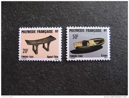 Polynésie:  TB Paire Timbres - Taxe  N° 8 Et  N° 9, Neufs XX. - Timbres-taxe