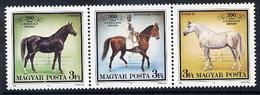 HUNGARY 1989 Babolna Stud MNH / **.  Michel 4015-17 - Hungary