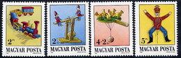 HUNGARY 1988 Antique Toys MNH / **.  Michel 3978-81 - Hungary