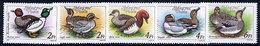 HUNGARY 1988 Wild Ducks MNH / **.  Michel 3972-76 - Hungary