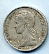 1953  5 FRANCS - Madagascar