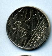 1996  5 FRANCS MENDES FRANCE - Commémoratives