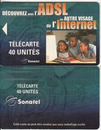 SENEGAL - ADSL/Internet, Sonatel Telecard 40 Units, Tirage 10000, Sample(no Chip, No CN) - Senegal