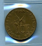 1988  10 FRANCS ROLAND GARROS - Commémoratives