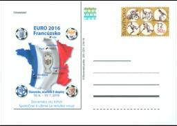 CDV 253 Slovakia Europe Football Championship  In France 2016 EURO - Championnat D'Europe (UEFA)